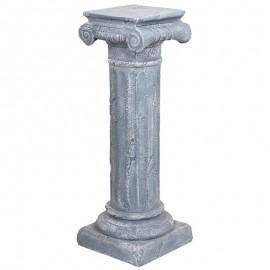 SELLETTE grise en résine - 98 cm