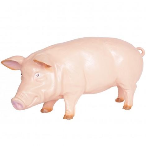 Statue en résine cochon rose (Didier) - 97 cm