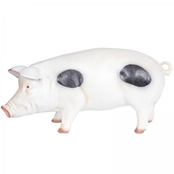 statue en r sine cochon anglais 97 cm. Black Bedroom Furniture Sets. Home Design Ideas