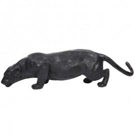 Statue en résine panthère noire - 135 cm
