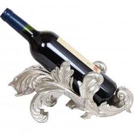 Porte-bouteille cave à vin en résine de style Louis XV - 30 cm