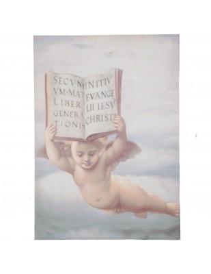 Tableau peinture ange - 70 cm