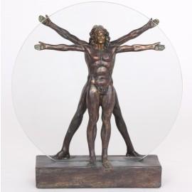 Statue l'homme de Vitruve - 28 cm