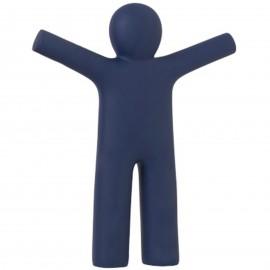 Statue en polyrésine homme ptit Louis bleu marine - 42 cm