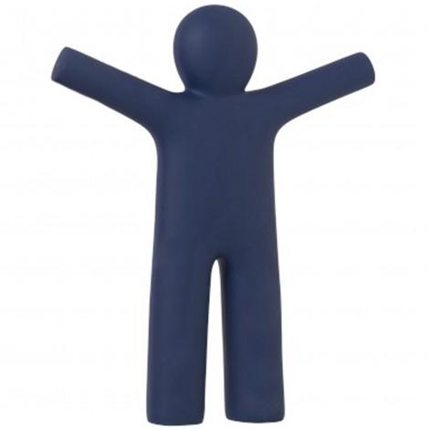 Statue en polyrésine homme ptit Louis bleu marine