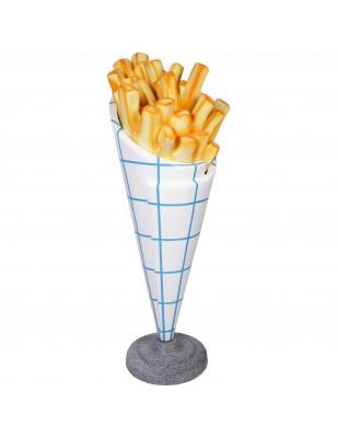 Stop-trottoir cornet de frites - 140 cm