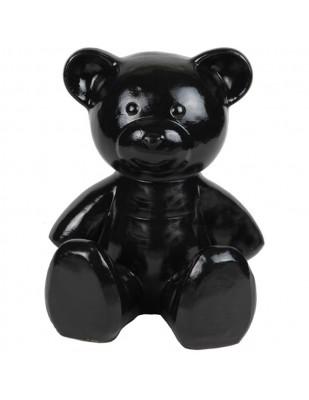 Statue Ours noir en résine - 35 cm