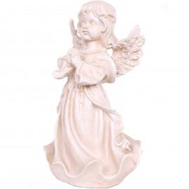 Statue en résine ange prieur 35 cm