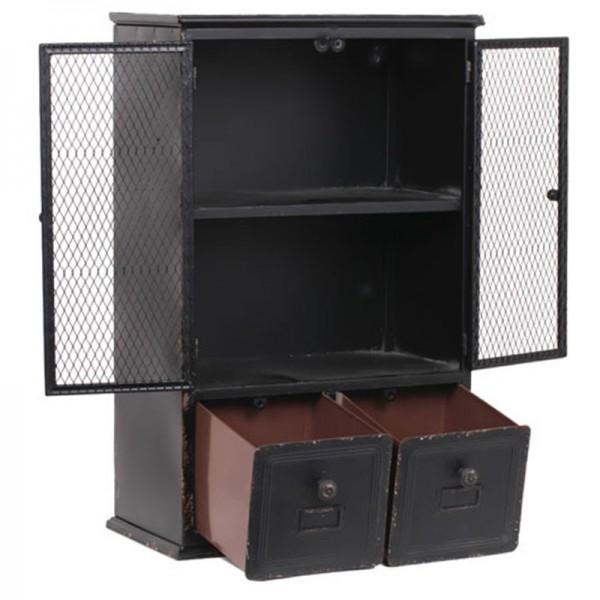 armoire en fer a poser ou a fixer 63 cm. Black Bedroom Furniture Sets. Home Design Ideas
