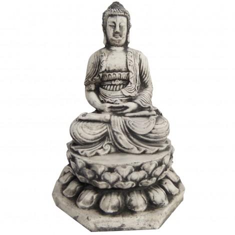 Statue en béton bouddha 26 cm