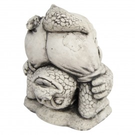 Statue en béton monstre gargouille gothique 18 cm