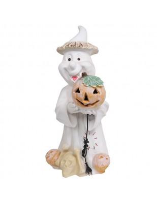 Statue FANTÔME électrifiée Halloween - 73 cm