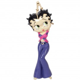 Statue en résine 32 cm Betty boop peace and love