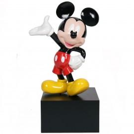Statue en résine Mickey en habits 80 cm