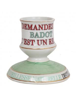 PYROGÈNE Badot en porcelaine - 9.5 cm