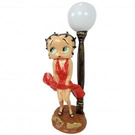 Lampe statue en résine Betty Boop Marilyn Monroe 70 cm