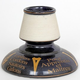 PYROGÈNE Moitroux Franc-maçonnerie en porcelaine - 12 cm