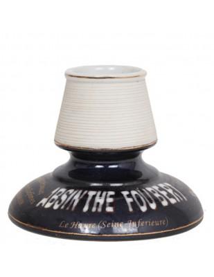 PYROGÈNE Foubert en porcelaine - 12 cm