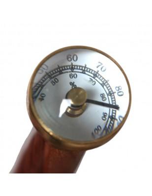 CANNE de marche à système pommeau contrôleur hygrométrique  - 92 cm
