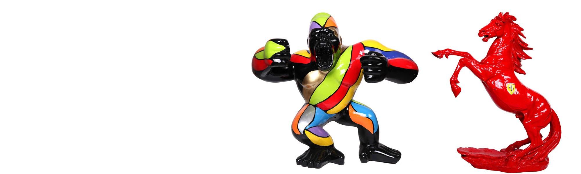 statue-gorille-sculpture